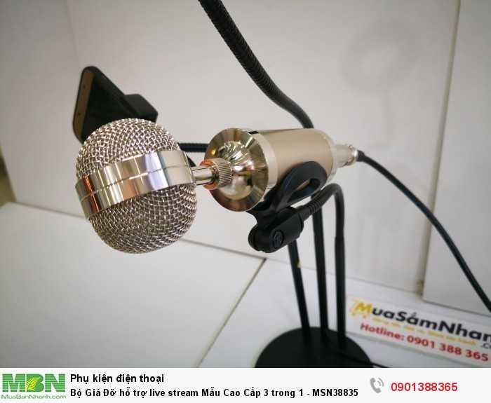 Bộ Giá Đỡ hỗ trợ live stream Mẫu Cao Cấp 3 trong 1 -  MSN3883552