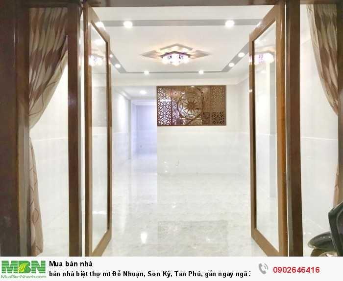 bán nhà biệt thự mt Đỗ Nhuận, Sơn Kỳ, Tân Phú, gần ngay ngã 3 Sơn Kỳ- Đỗ Nhuận,