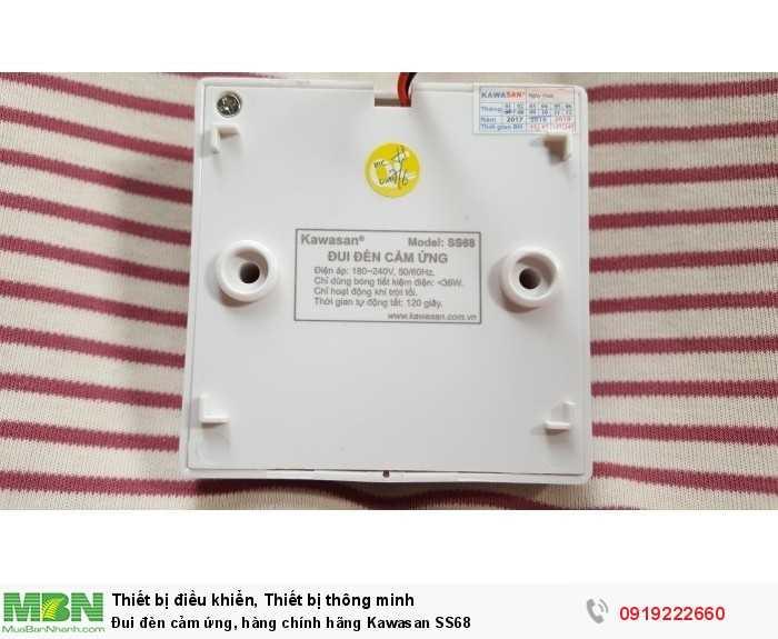 Đui đèn cảm ứng, hàng chính hãng Kawasan SS68