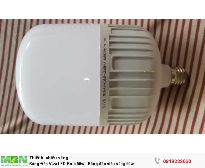 Bóng Đèn Viva LED Bulb 50w | Bóng đèn siêu sáng 50w4