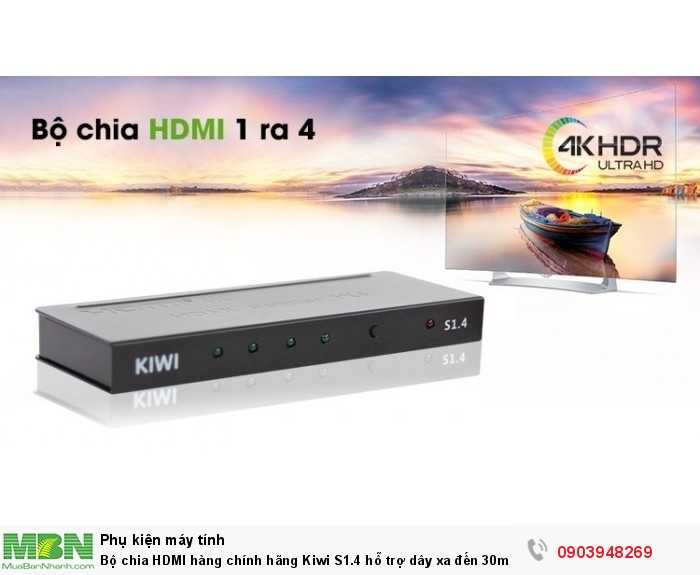 Bộ chia HDMI thiết kế đẹp, gọn nhẹ2