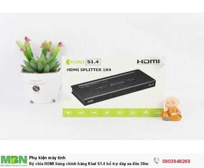 Bộ chia HDMI Kiwi  S1.4 không thể thiếu khi cần chia hình ảnh HDMI xa đến 30m4