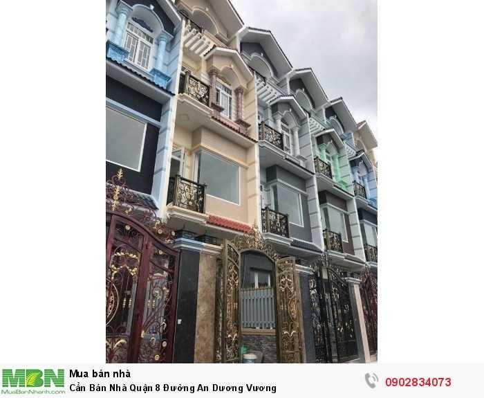 Cần Bán Nhà Quận 8 Đường An Dương Vương