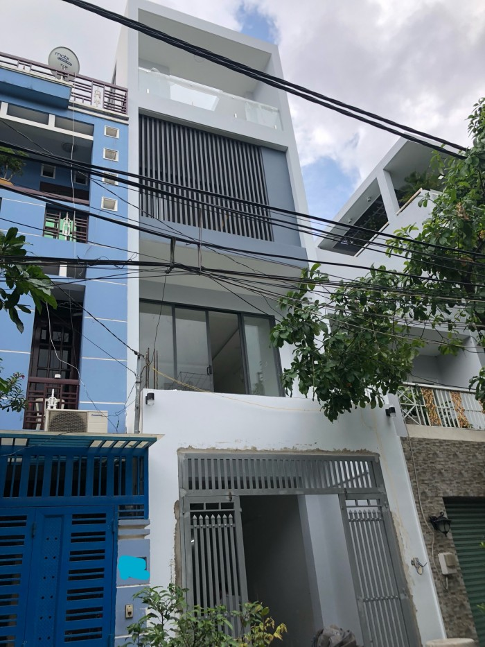 Bán Nhà Hẻm VIP 368 Tân Sơn Nhì.dt 4x20m. 4 tấm đúc.NTCC