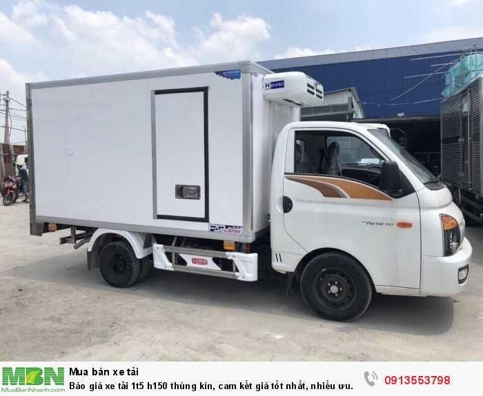 Ô Tô Miền Nam Tây Nguyên báo giá xe tải 1.5 tấn h150 - Trả trước 100 triệu - Giao xe ngay - Gọi ngay 0913553798 (24/24)