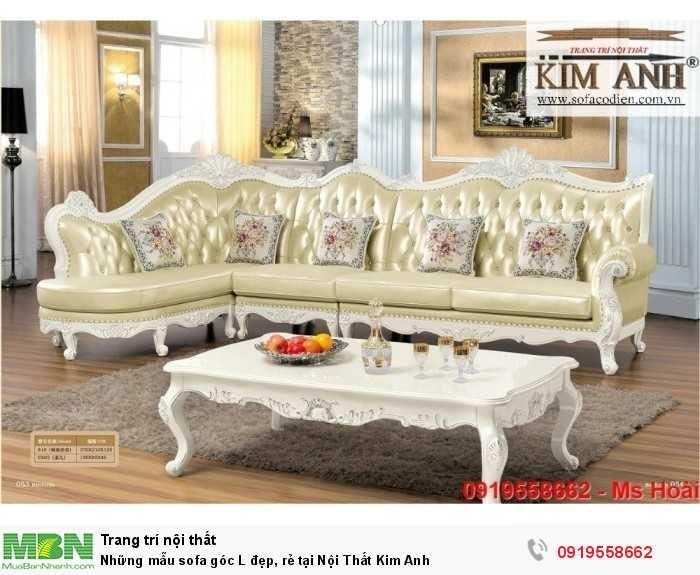 Những mẫu sofa cổ điển góc L đẹp, rẻ tại Cần thơ, An Giang