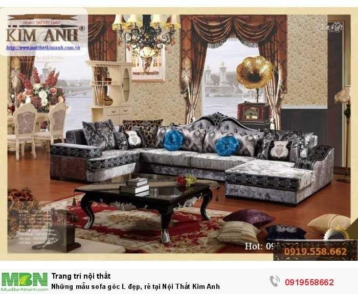 [4] Những mẫu sofa cổ điển góc L đẹp, rẻ tại Cần thơ, An Giang