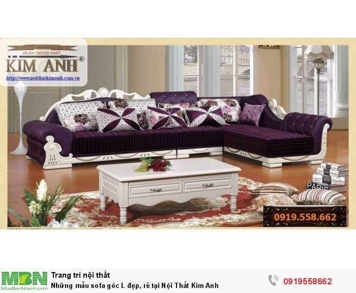 [3] Những mẫu sofa cổ điển góc L đẹp, rẻ tại Cần thơ, An Giang