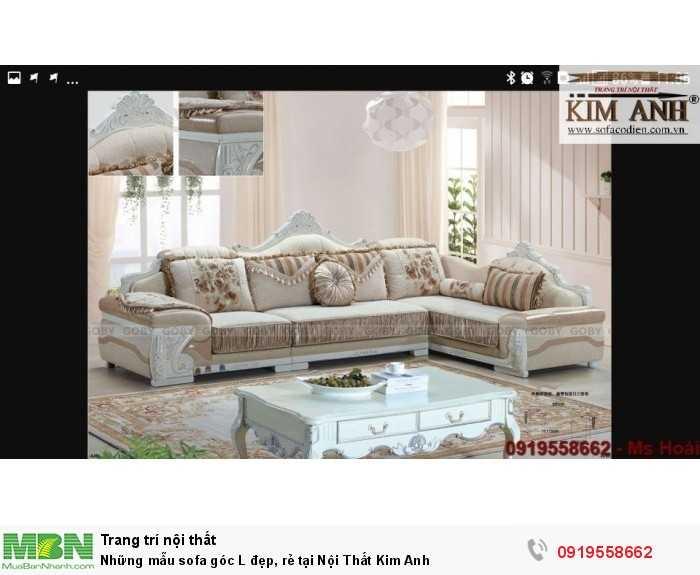 [5] Những mẫu sofa cổ điển góc L đẹp, rẻ tại Cần thơ, An Giang