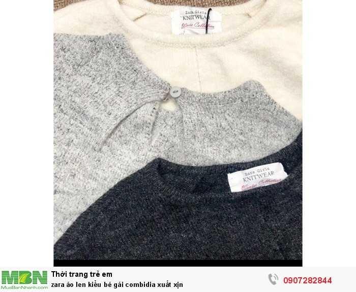 Zara áo len kiểu bé gái combidia xuất xịn1
