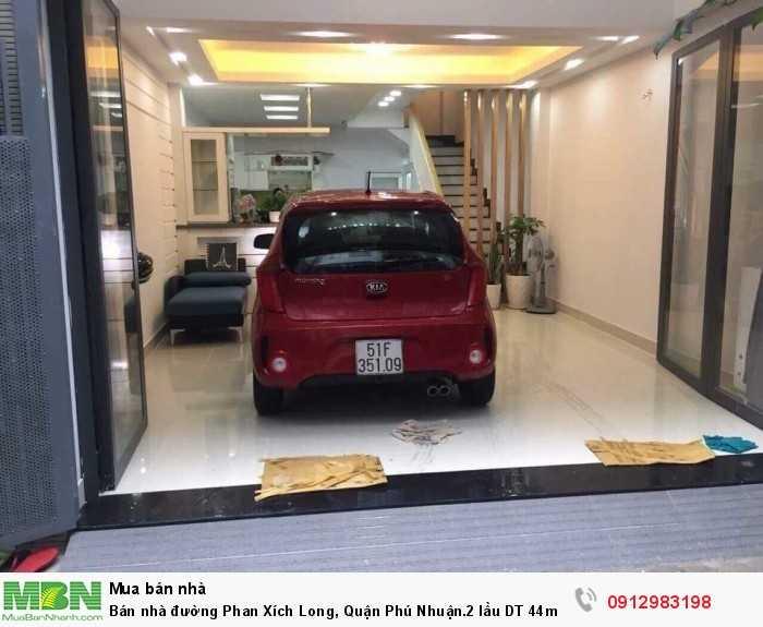 Bán nhà đường Phan Xích Long, Quận Phú Nhuận.2 lầu DT 44m2 giá 5.3 tỷ