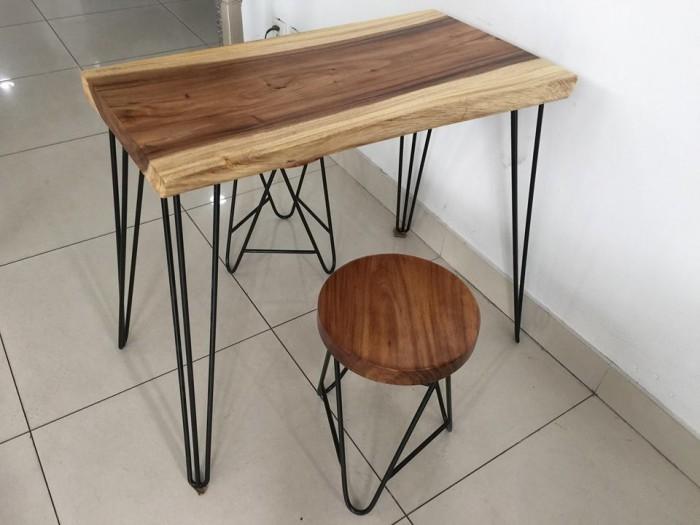 Mặt ghế gỗ me tây2