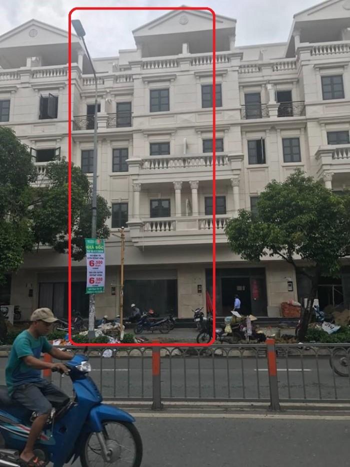 Cho thuê nhà MT Phan Văn Trị, p10, Gò Vấp, dự án cityland
