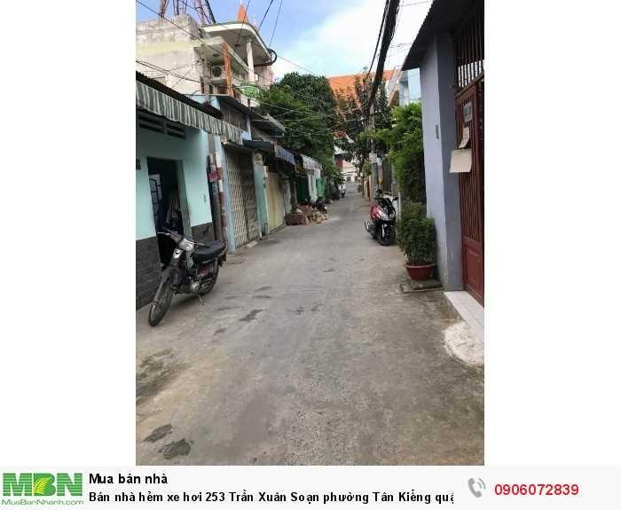 Bán nhà hẻm xe hơi 253 Trần Xuân Soạn phường Tân Kiểng quận 7, DT 128m , giá 5.7 tỷ