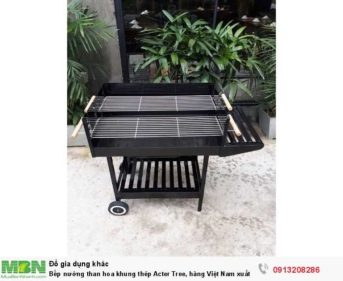 Bếp nướng than hoa khung thép Acter Tree, hàng Việt Nam xuất khẩu0