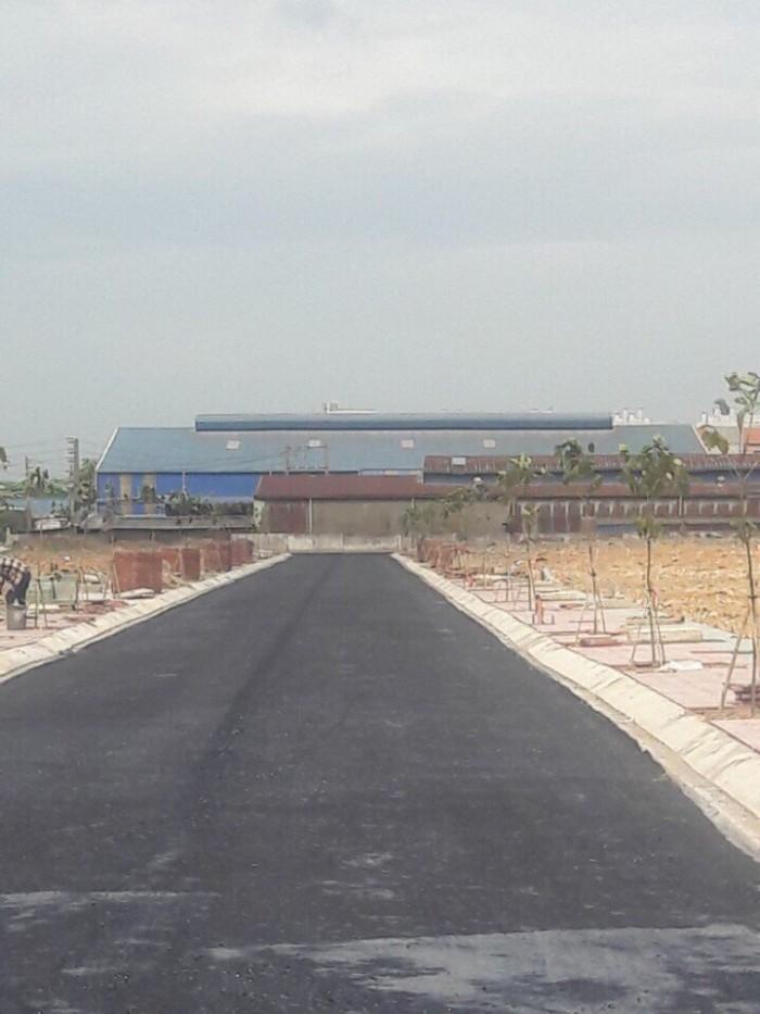 Cần bán lô đất KDC Phúc Đạt Tân Đông Hiệp, Dĩ An, BD, Nằm trên đường Trục chính