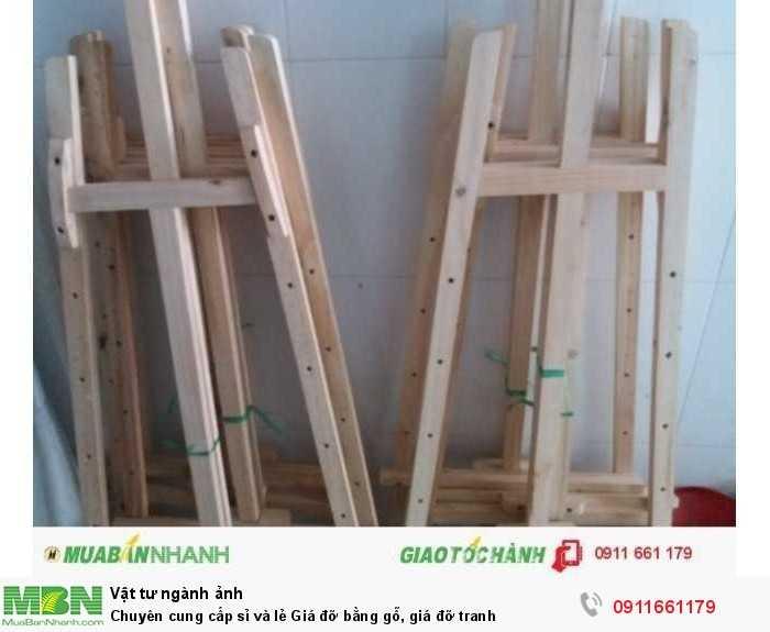Chuyên cung cấp sỉ và lẻ Giá đỡ bằng gỗ, giá đỡ tranh2
