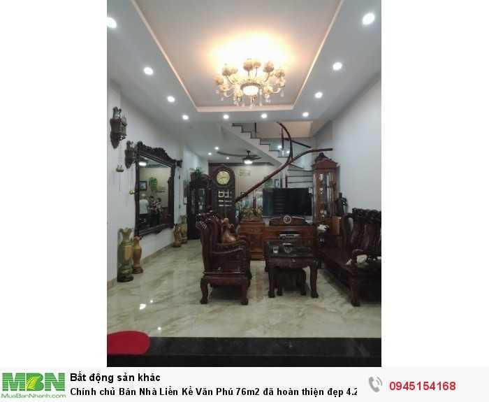 Chính chủ Bán Nhà Liền Kề Văn Phú 76m2 đã hoàn thiện đẹp