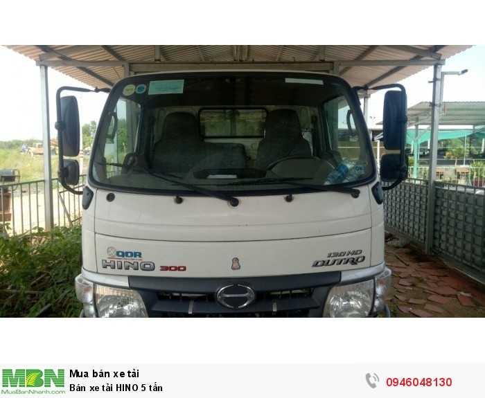 Bán xe tải HINO 5 tấn