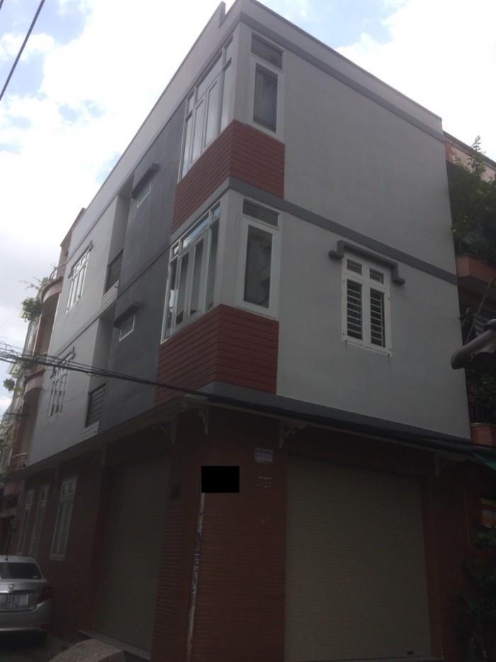 Nhà lô góc 2 mặt tiền – Hẽm xe hơi 7m thông Nguyễn Bặc, Q. Tân Bình