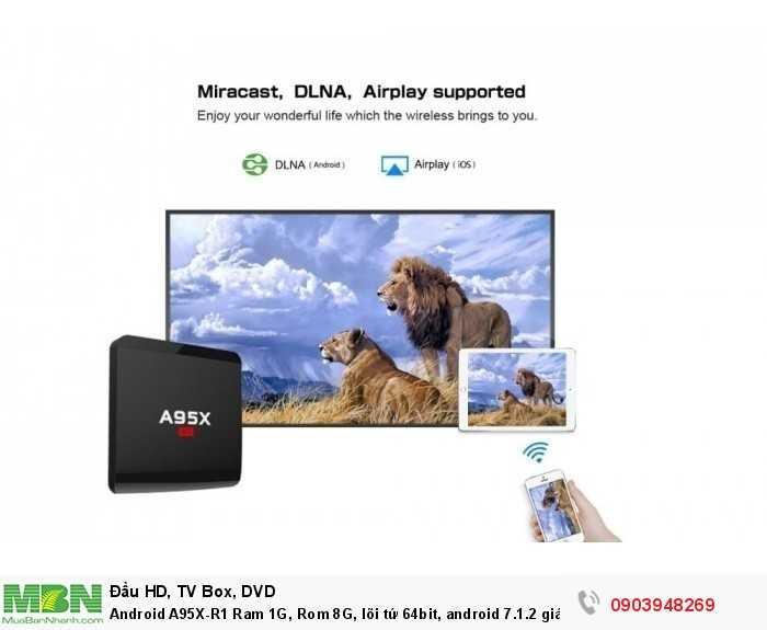 Android A95X-R1 Khuyến mãi chuột không dây Kiwi S183 giá 790K/  bộ
