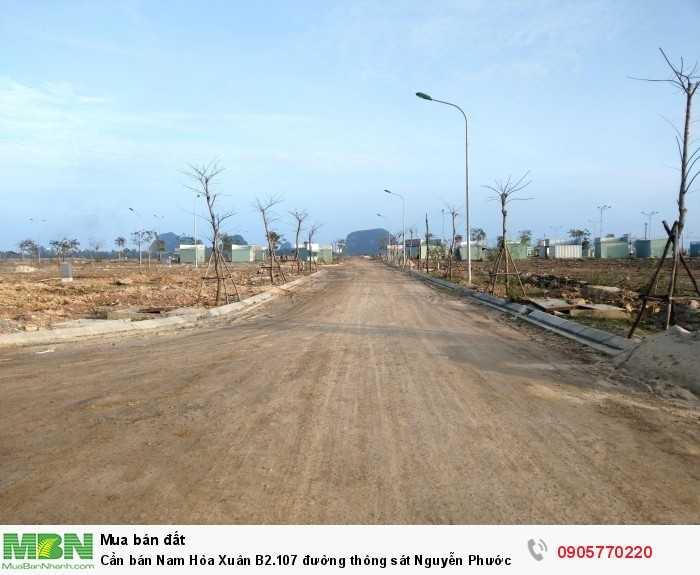 Cần bán Nam Hòa Xuân B2.107 đường thông sát Nguyễn Phước Lan