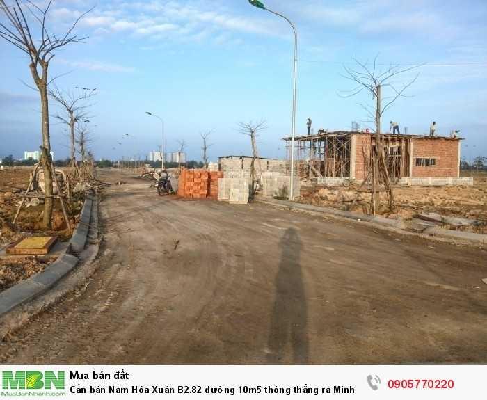 Cần bán Nam Hòa Xuân B2.82 đường 10m5 thông thẳng ra Minh Mạng, phù hợp kinh doanh