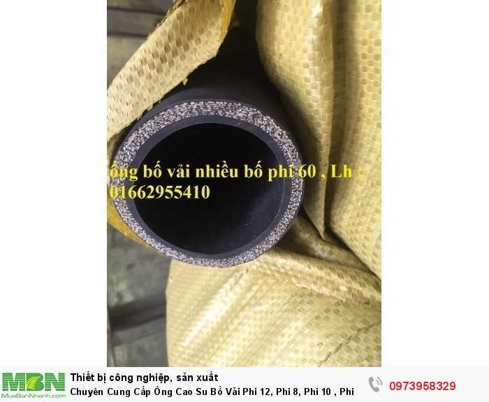 ống cao su bố vải hàng đặc trủng