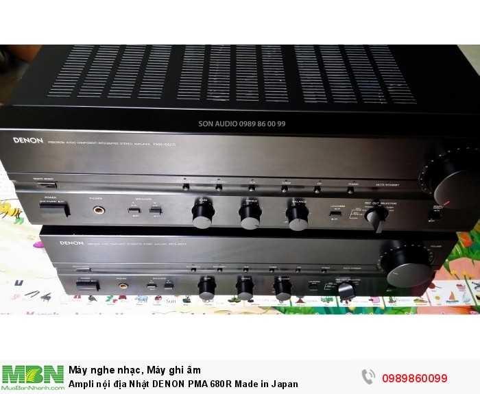 Ampli nội địa Nhật DENON PMA 680R Made in Japan0