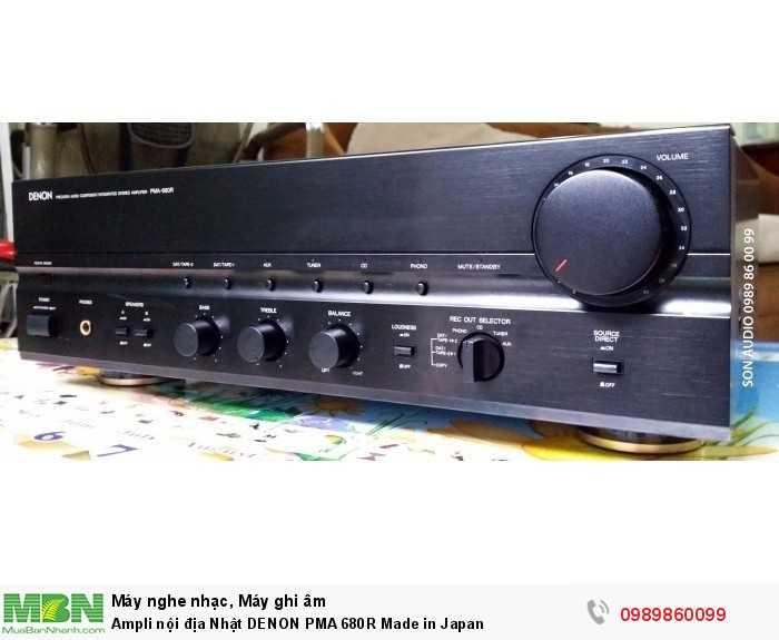 Ampli nội địa Nhật DENON PMA 680R Made in Japan1