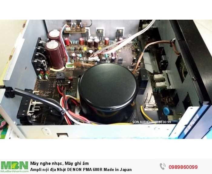 Ampli nội địa Nhật DENON PMA 680R Made in Japan4