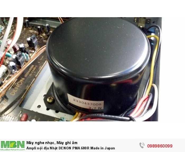 Ampli nội địa Nhật DENON PMA 680R Made in Japan5