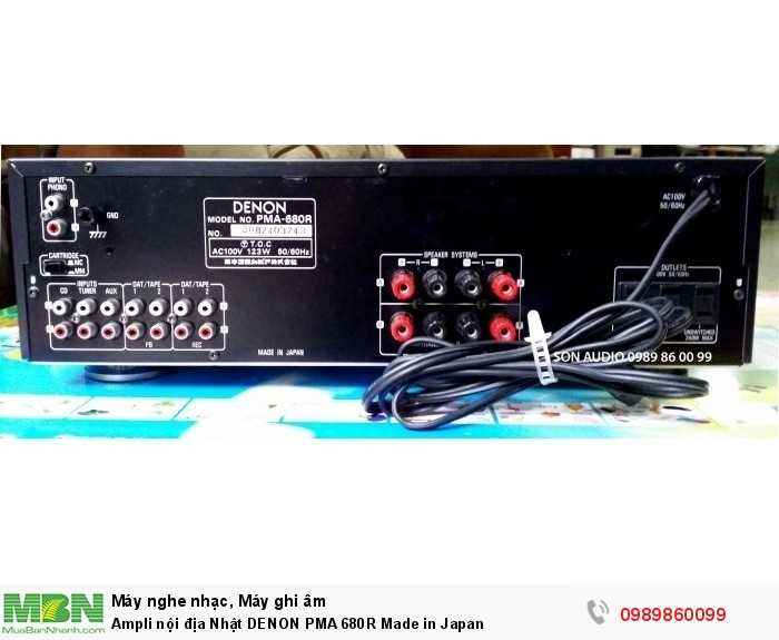 Ampli nội địa Nhật DENON PMA 680R Made in Japan8