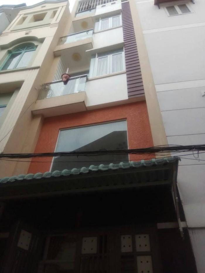 Mua ngay nhà Hoàng Văn Thụ Phú Nhuận hẻm xe hơi 4 lầu 5 PN đẹp mới xây