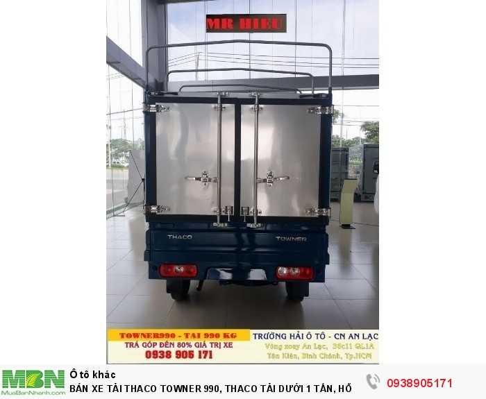 Bán Xe Tải Thaco Towner 990, Thaco Tải Dưới 1 Tấn, Hỗ Trợ 100% Thuế Trước Bạ Khi Mua Xe 1