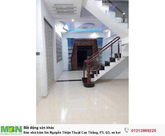 Bán nhà hẻm 5m Nguyễn Thiện Thuật Cao Thắng, P3, Q3, xe hơi vào tận nơi. Giá chỉ 11, 8 tỷ.