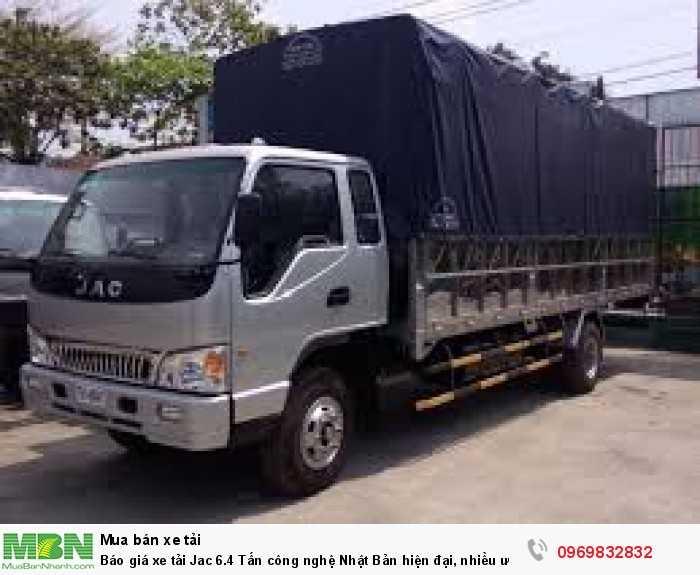 Xe tải Jac 6.4 tấn – HFC1083K là sản phẩm xe tải hoàn hảo từ chất lượng đến giá thành - Gọi báo giá xe tải Jac 6.4 tấn nhận ưu đãi 0969 832 832 (24/24)