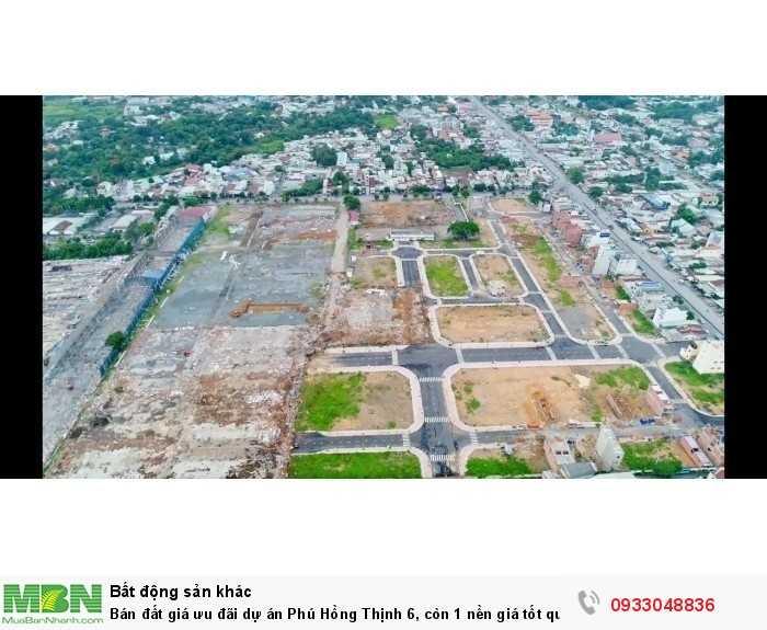 Bán đất giá ưu đãi dự án Phú Hồng Thịnh 6, còn 1 nền giá tốt quý khách nhanh tay liên hệ