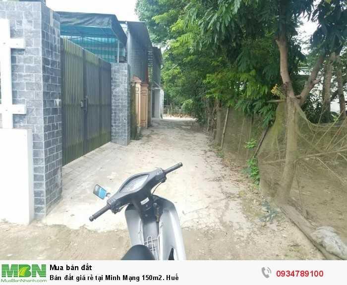Bán đất giá rẻ tại Minh Mạng 150m2. Huế