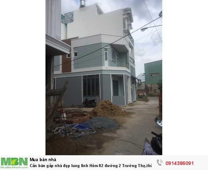 Cần bán gấp nhà đẹp lung linh Hẻm 82 đường 2 Trường Thọ,thủ đức