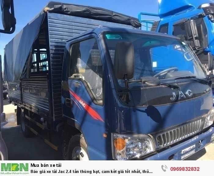 xe tải JAC 2.4 tấn có mức giá ưu ái hơn và được người dùng tin tưởng và sử dụng hơn các dòng xe cùng phân khúc - Gọi ngay 0969 832 832 (24/24)