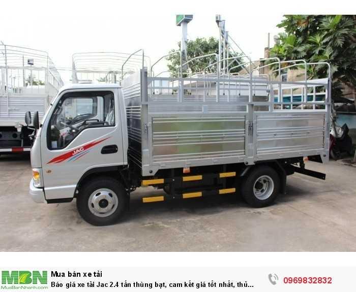 Xe tải Jac 2.4 tấn với thế mạnh là dòng xe chạy vào thành phố vào ban ngày. khả năng chuyên chở linh hoạt, tiết kiệm nhiên liệu - Gọi tư vấn chi tiết hơn Mr Độ 0969 832 832 (24/24) .