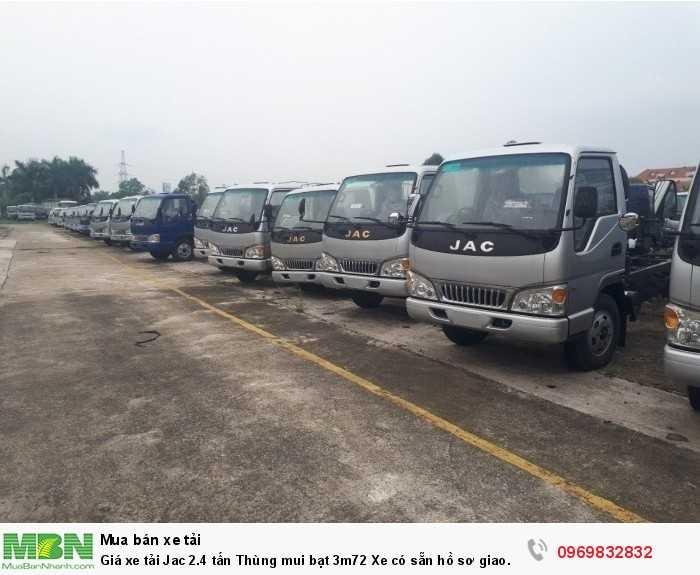 Thủ tục mua xe tải jac 2.4 tấn vay nhanh gọn, lãi suất thấp, vay cao, thời gian vay dài, thế chấp bằng chính chiếc xe cần vay - Gọi ngay Mr Độ 0969 832 832