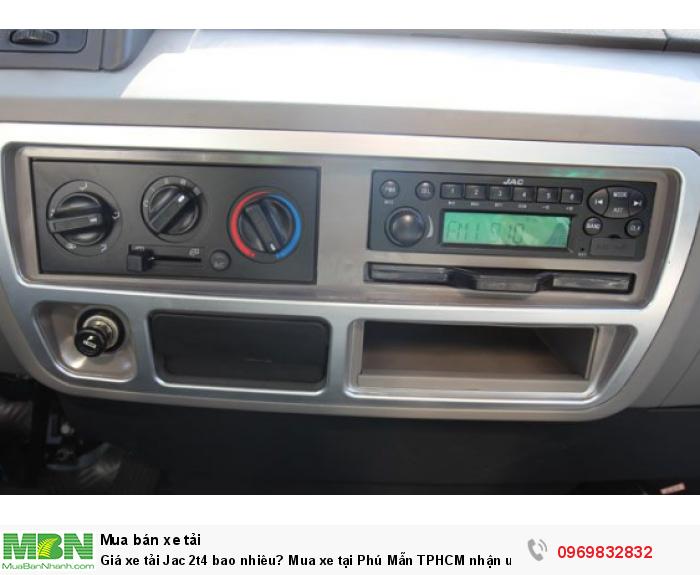 Báo giá xe tải Jac 2t4 tốt nhất  - gọi ngay nhận ưu đãi cực lớn trong tháng - Liên hệ Mr Độ 0969 832 832 tư vấn tận tình 24/24.