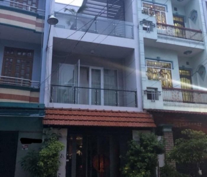 Bán Nhà Hẻm Vip Đường Trần Văn Ơn, Tân Phú. DT 4.5m x 17m. Đúc 2 lầu.