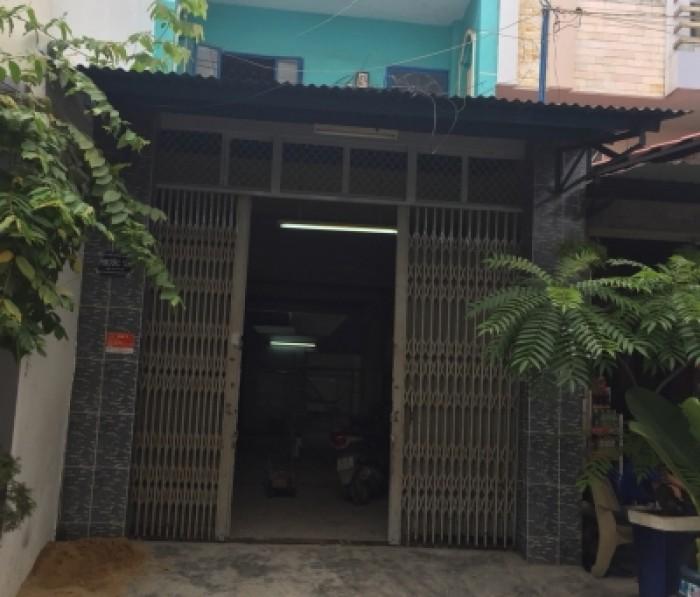Bán nhà hẻm 6m đường Lê Văn Phan dt 4x19m, p Phú Thọ Hòa