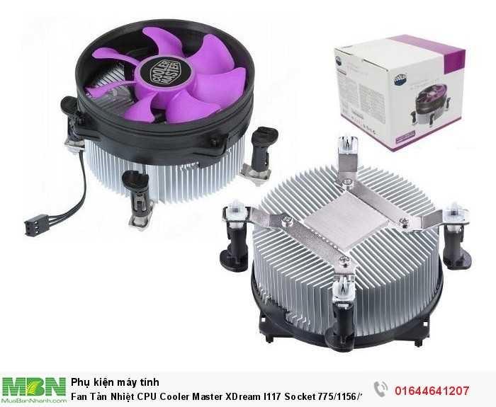 Fan Tản Nhiệt CPU Cooler Master XDream I117 Socket 775/1156/1155 Chính Hãng2