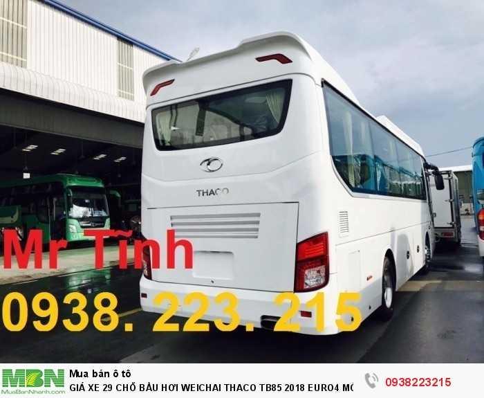 Giá Xe 29 Chỗ Bầu Hơi Weichai Thaco Tb85 2018 Euro4 Mới Nhất 22