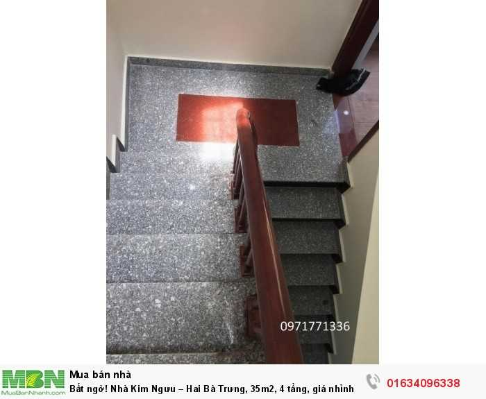 Bất ngờ! Nhà Kim Ngưu – Hai Bà Trưng, 35m2, 4 tầng