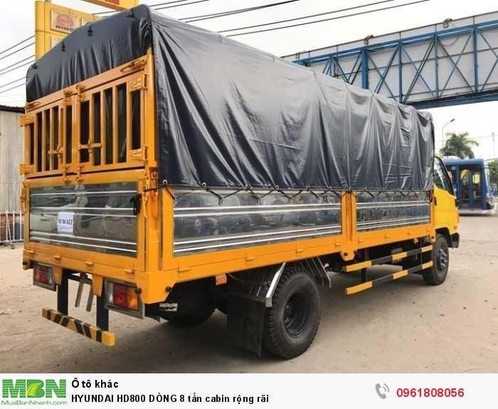 Hyundai HD800 DÒNG 8 tấn cabin rộng rãi